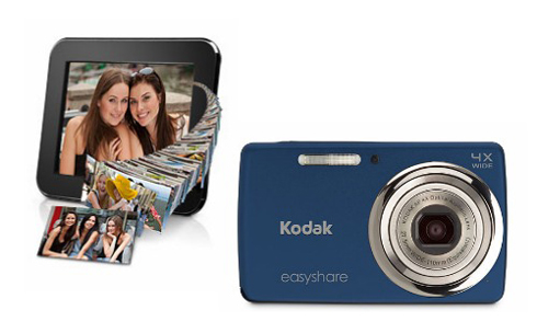 Kodak EASYSHARE M532 Camera and Kodak PULSE Digital Frame